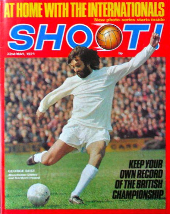 Shoot British Football George Best Football Memorabilia