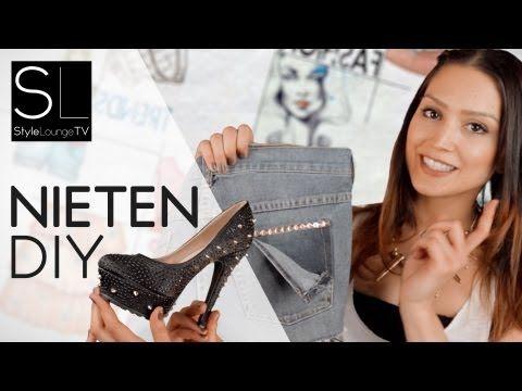 ▶ DIY Fashion - Nieten selber anbringen - Schuhe DIY #Sevil (DE) - YouTube