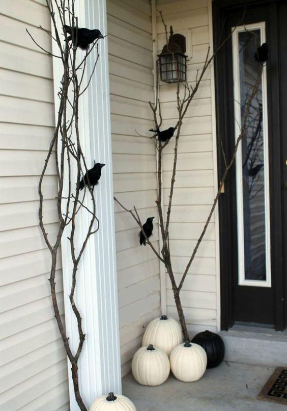 Inspiring halloween front yard decoration ideas (67)