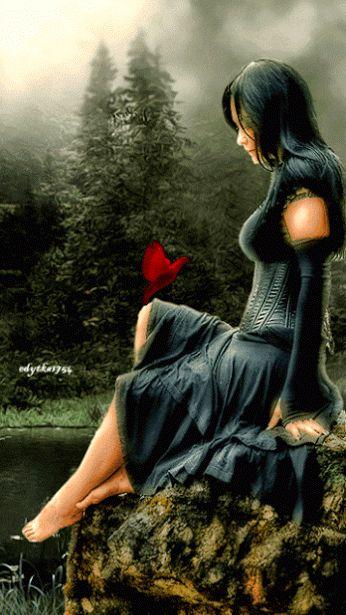 Rosa Negra feliz - Google+