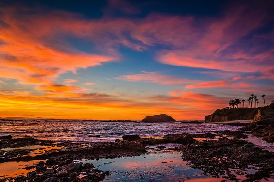 Most beautiful beaches sunset beaches pinterest most for Pretty beaches in california