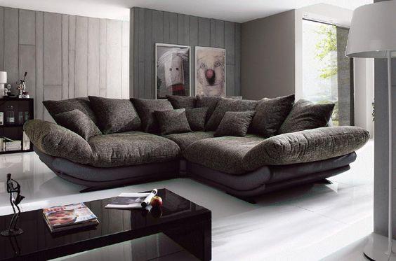 ROSE Mega Sofa Couch Polstergarnitur Vorschlag-1 von NEW Look ...