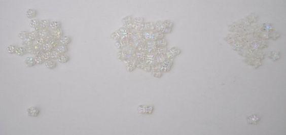 Destash plastic beads - flowers - stars - butterflys by CherryBlossomMuse, $0.99