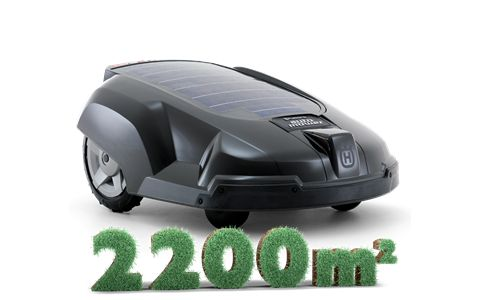 HUSQVARNA AUTOMOWER® SOLAR HYBRID - Automower® Solar Hybrid is the world's first fully automatic lawn mower that is partly powered by the sun.