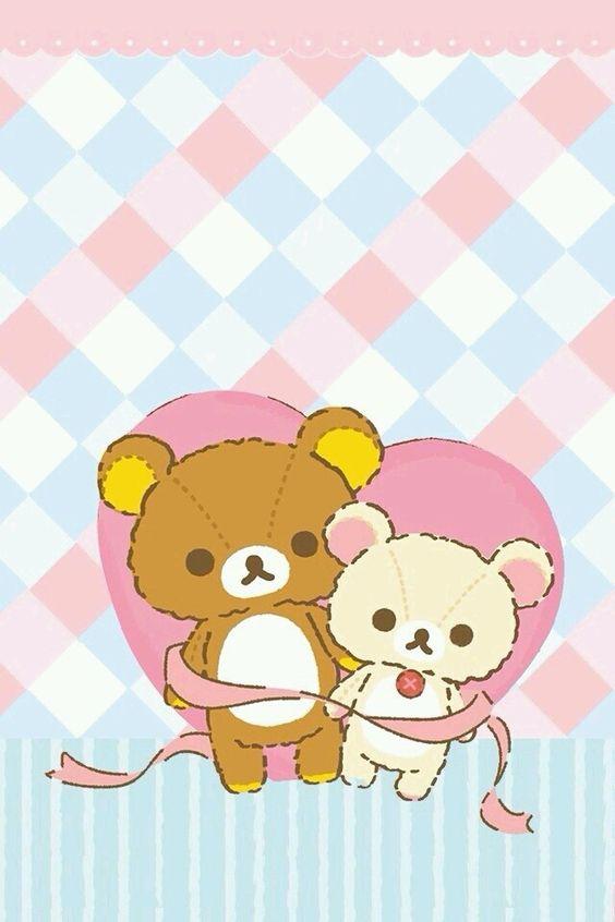iPhone壁纸 萌物 可爱 背景 轻松熊 SanX ♡ Pinterest Rilakkuma