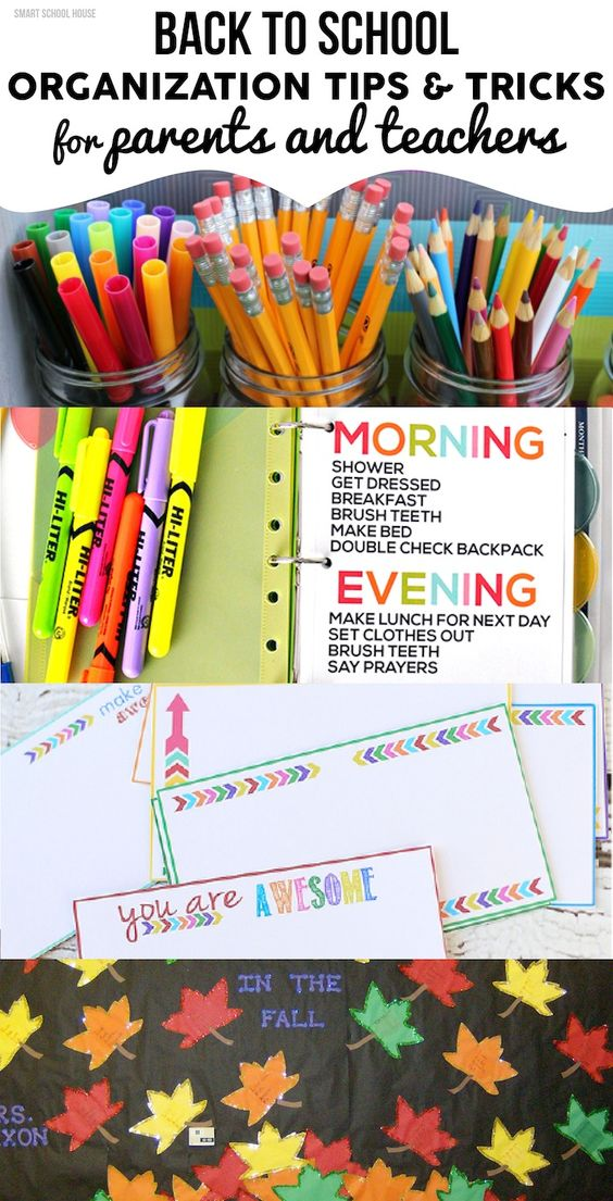 Tips And Tricks For Being Organized: Get Organized And Ready For Back To School With These