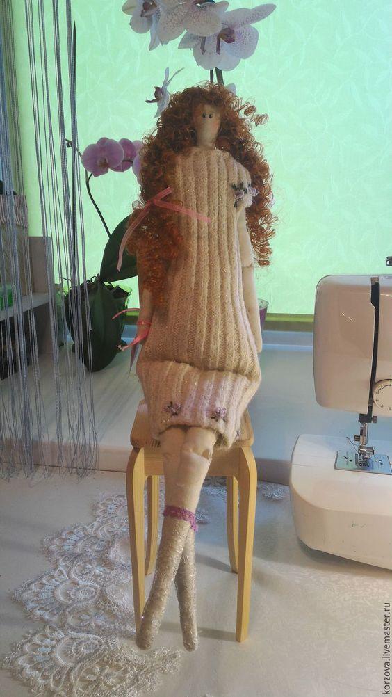 Купить Кукла Юлия - лимонный, кукла ручной работы, кукла, кукла в подарок…