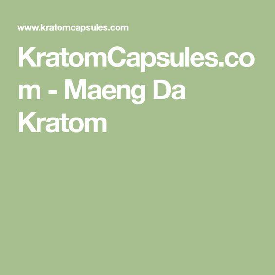KratomCapsules.com - Maeng Da Kratom