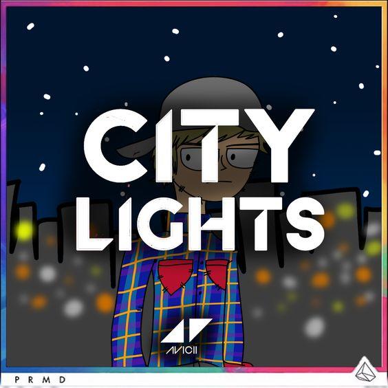 Avicii – City Lights (single cover art)