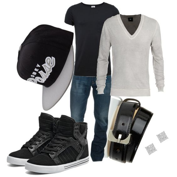 """Boyfriend Clothes 2"" by dropdead on Polyvore"