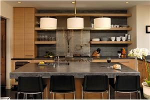 Contemporary (Modern, Retro) Kitchen by Jennifer Gilmer