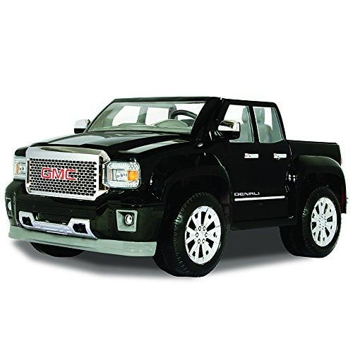 Gmc Sierra Denali 12 Volt Battery Powered Ride On Black Kids
