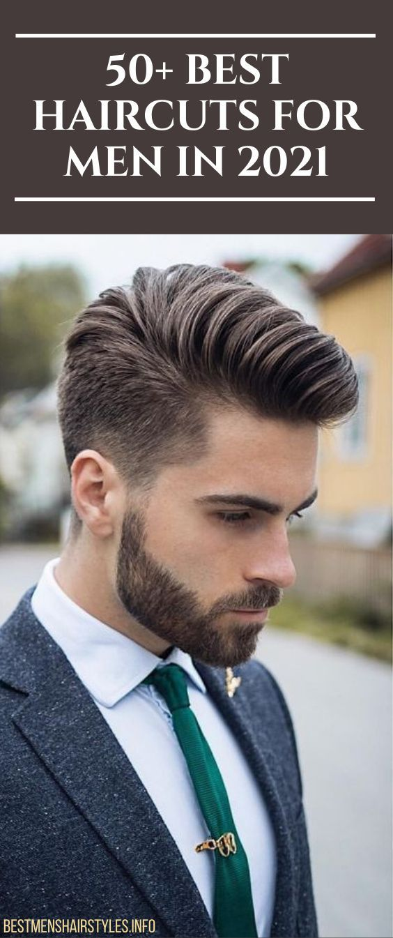 50 Best Haircuts For Men In 2021 Page 2 In 2020 Short Sides Long Top Mens Hairstyles Short Sides Long Tops