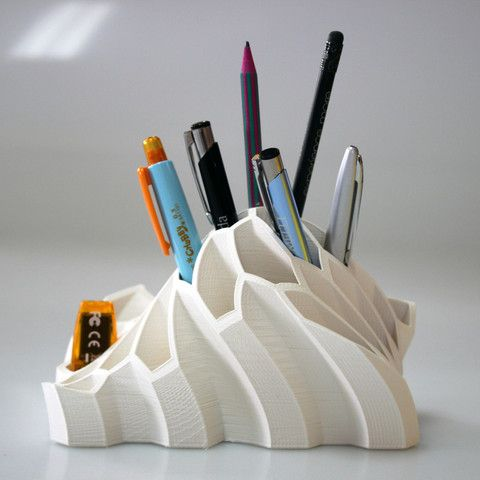 Pen and Pencil Holder  3D model, BEEVERYCREATIVE