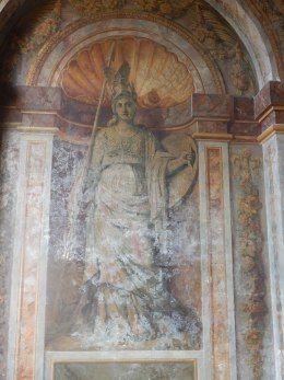Louise de La Vallière sous la figure de Minerve