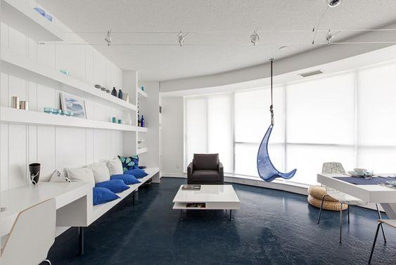 Blue Pie Condo by Reza Aliabadi Inspired by Arctic Iceberg Photo