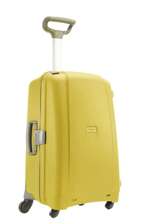 Aeris Lemon 68cm #Samsonite #Aeris #Travel #Suitcase #Luggage ...