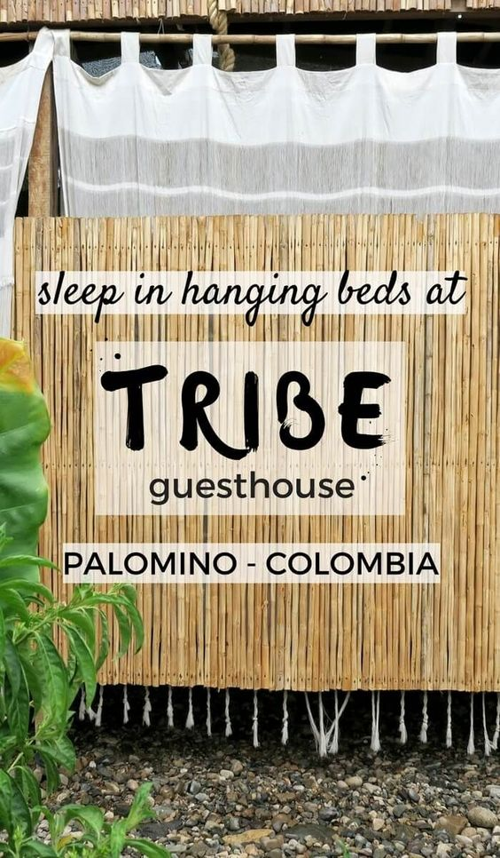 Have you ever thought about sleeping in a hanging bed? You can at TRIBE Guesthouse in the little Caribbean village of Palomino in Colombia. This is a write-up of our 2 night stay at the eco-friendly boutique guesthouse. Click through to read now...