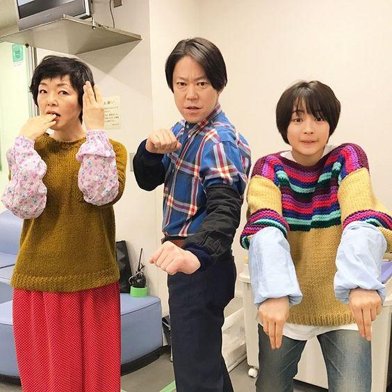 ドラマ『anone』のキャストさんと阿部サダヲ