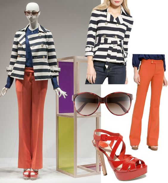 Window Shopping: Going nautical with color.