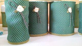 Rosângela Vig Artesanato e decoração: Potinhos decorados