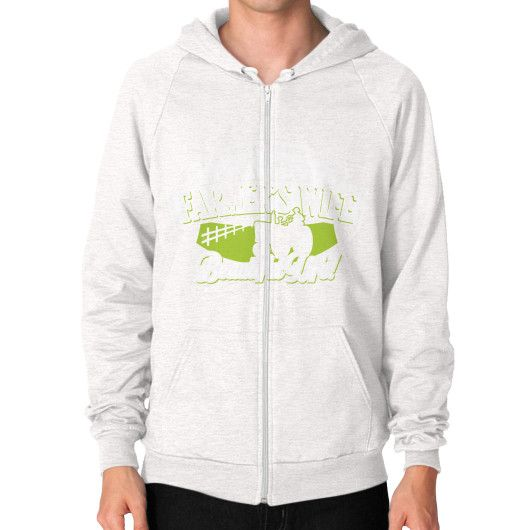 Farmer WIFE Zip Hoodie (on man)