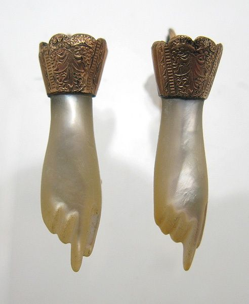 Victorian Mother of Pearl earrings