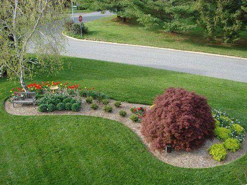 vorgartengestaltung mit kies - 15 vorgarten ideen … | garten, Garten und Bauen