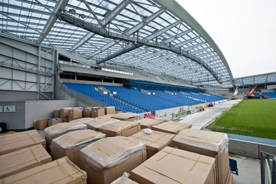 Twitter / BHASnappy: #EXTRASEATS Seats in North East corner ahead of lifting to top tier #BHAFC
