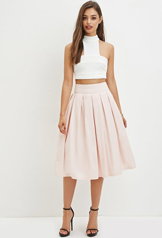Pleated A-Line Skirt | Forever 21 Canada | What's in my actual ...