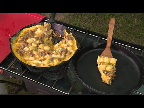 Camp Breakfast Casserole - YouTube