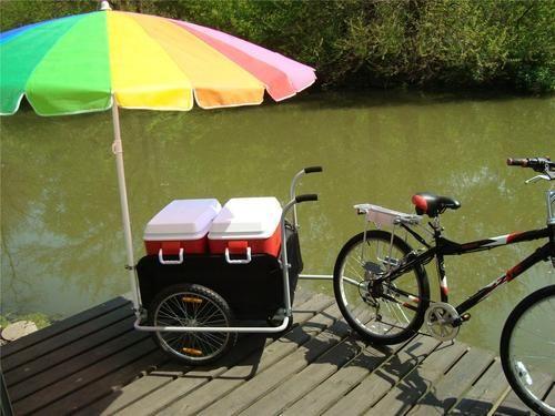Ice Cream Cart Bike Bicycle Trike Trailer Truck Plans Ebay Ice