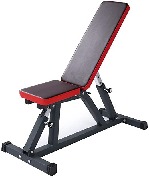Yfmmm Weight Bench Adjustable Multi Purpose Gym Bench Strength Training Incline Decline Benchs For Upright Incline D In 2020 Weight Benches Strength Training Exercise