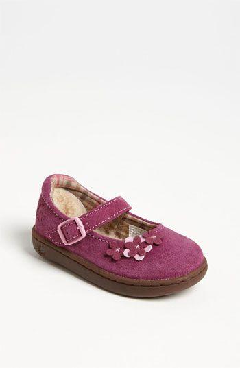 UGG® Australia 'Annalie' Mary Jane (Walker & Toddler) available at #Nordstrom