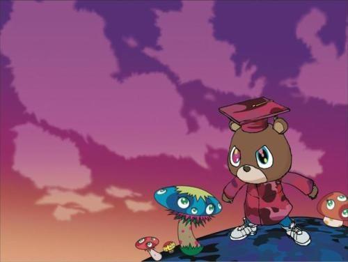 Pin By Lalopez Kcherrera On Hip Hop With Images Bear Tumblr Kanye West Bear Kanye West Graduation