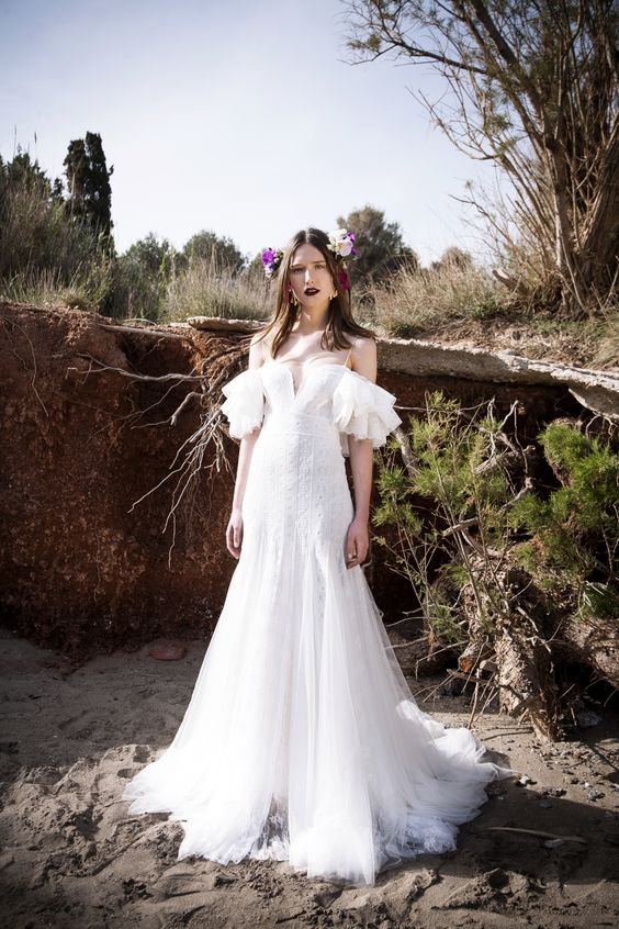 Christos Costarellos 2017 SPRING BRIDAL COLLECTION - The Coordinated Bride