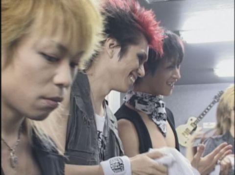 Kyo, Die and Toshiya. Dir en Grey