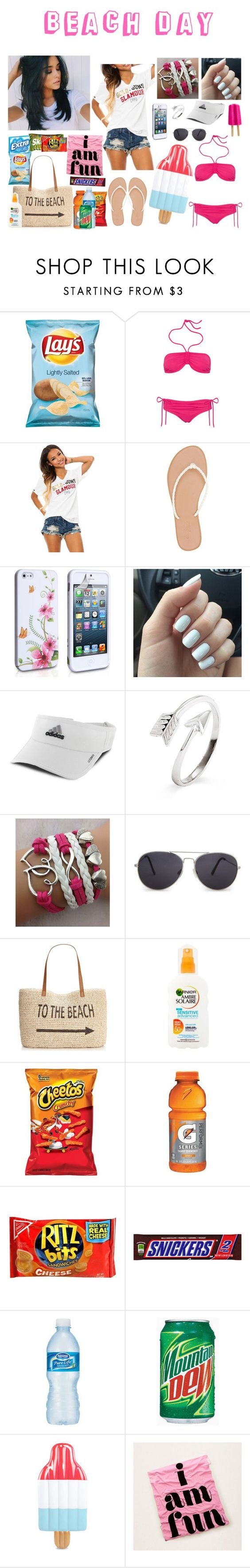 """""""Beach Day ☀😃"""" by superkaci-gordon ❤ liked on Polyvore featuring Lanvin, Crooks & Castles, Charlotte Russe, adidas, MANGO, Style & Co. and Aerie"""