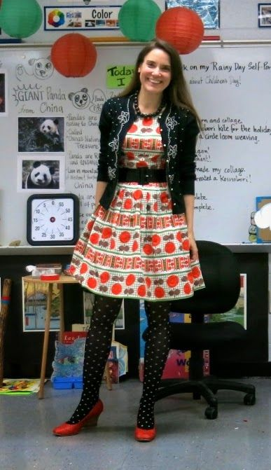 What I Wore in the art room