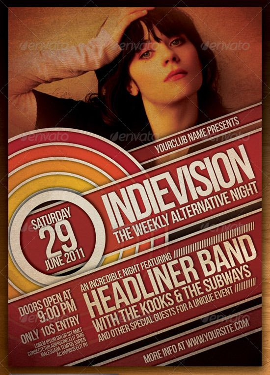 INDIE FLYER/POSTER VOL 7