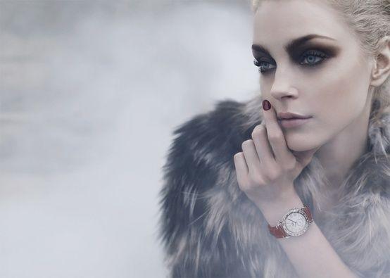 Jessica Stam Winter Makeup
