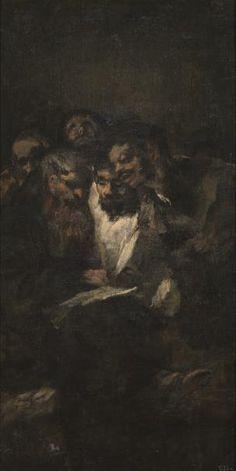 La lectura - obra de Francisco de Goya y Lucientes - Museo Nacional del Prado #painter #painting #art