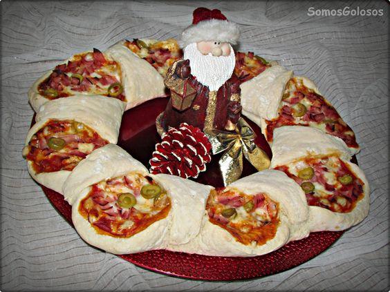 Pizza de Reyes. Receta aquí http://blogsomosgolosos.blogspot.com/2014/01/pizza-de-reyes.html