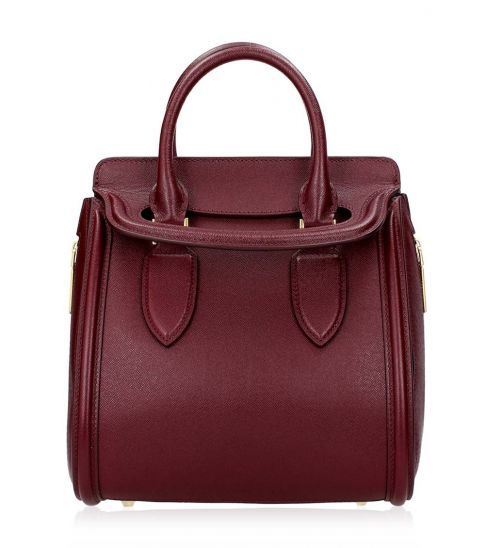 #AlexanderMcQueen Bordeaux Heroine #Bag, shop at darveys.com