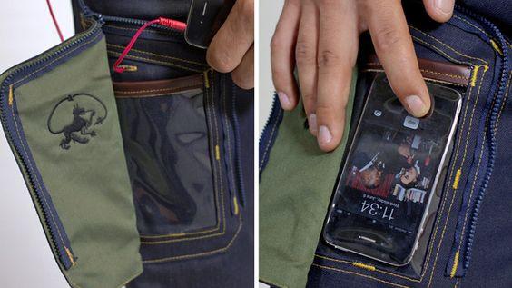 Pantalón bolsillo para teléfono móvil ;)