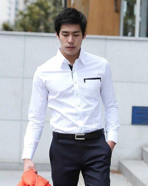White Shirt Mens Fashion