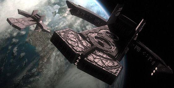 Asgard Ships  Stargate SG-1