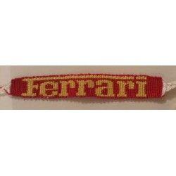 Bracelet inscription Ferrari