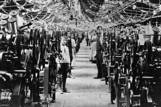 Children were in the workforce at Saltu0027s Mill, Saltaire near - küchenarbeitsplatte online bestellen