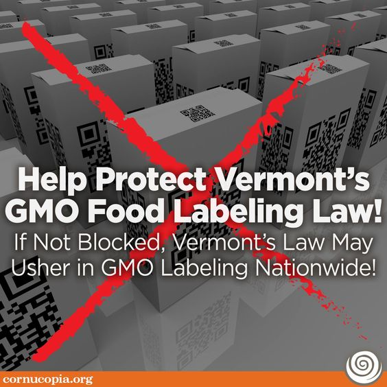 Vermont's Law May Usher in GMO Labeling Nationwide!  #GMOs #labelGMOs  #gmfood #GMOlabeling #righttoknow #vermont